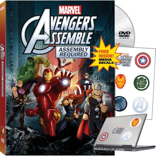 Marvel's Avengers Assemble: Assembly Required (DVD   Media Decals) (Widescreen)