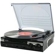 JENSEN JTA-230 3-Speed Stereo Turntable