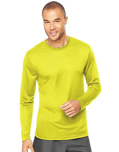 Sport Big Men's Long Sleeve CoolDri Performance Tee (50+ UPF)
