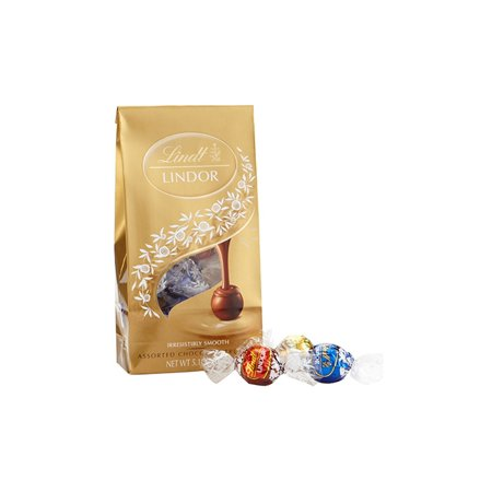 Lindor Assorted Chocolate Truffles, 5.1 oz, 3 Pack