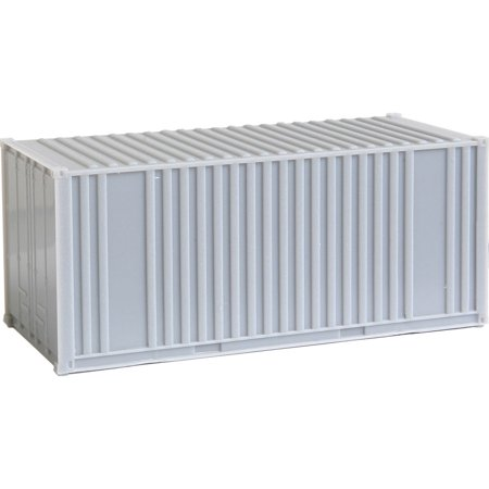 Walthers HO Scale 20' Ribbed-Side Shipping Intermodal Container