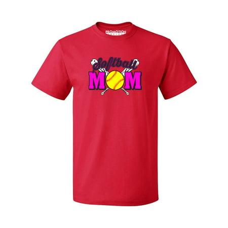 Promotion Beyond P B Neon Softball Mom Men S T Shirt Red 3xl