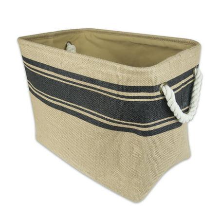 Jute Rectangular Basket (16