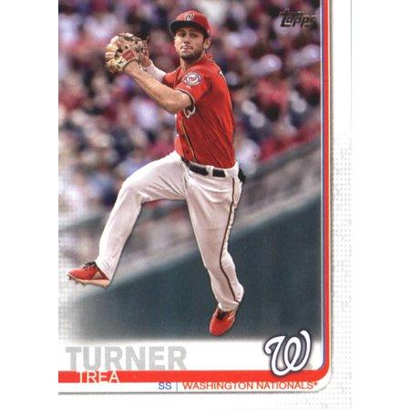 2019 Topps #176 Trea Turner Washington Nationals Baseball Card -