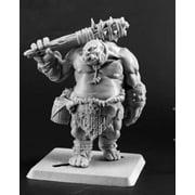 Reaper Miniatures Ogre Guard #03712 Dark Heaven Legends Unpainted Metal Figure