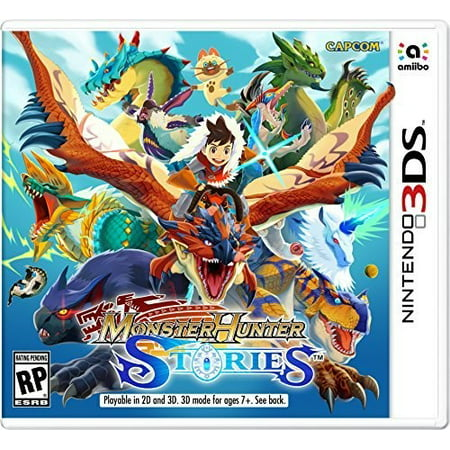 Capcom Monster Hunter Stories, Nintendo, Nintendo 3DS,