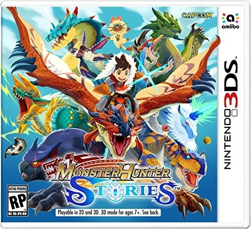 Capcom Monster Hunter Stories, Nintendo, Nintendo 3DS, 045496591151