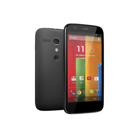 Motorola (Moto G) XT1034 16GB Factory GSM Unlocked Quad-Core Smartphone - Black (Cell Motorola Moto G)