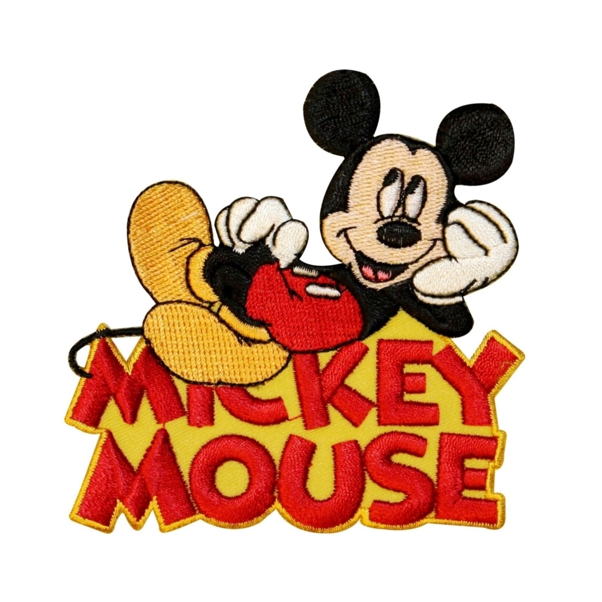 "Cartoon ""Mickey Mouse"" Fan Logo Patch Disney Character Craft Iron-On Applique"