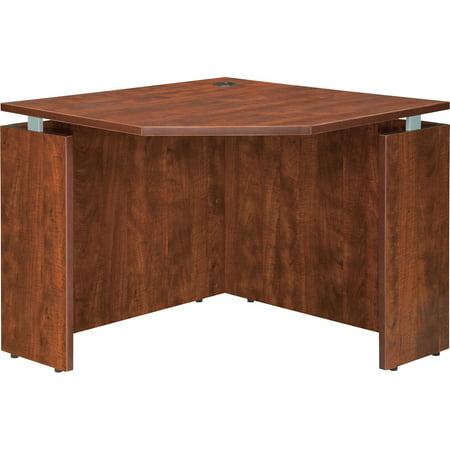 - Lorell, LLR68695, Ascent Corner Desk, 1 Each