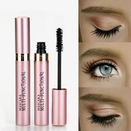Smudge Proof Halloween Makeup (2-Pack 3D Mascara Thickening Lengthening And Curling Eyelash Waterproof Smudge-proof)
