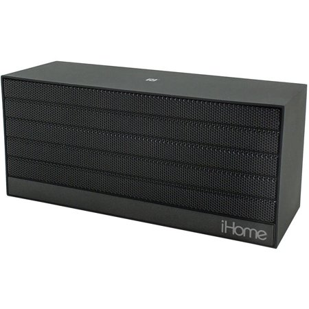 IHOME iBN27BX Bluetooth(R) Rechargeable Stereo Mini Speaker with NFC (Black)