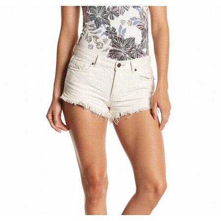 Free People Womens Cutoff Casual Denim Shorts