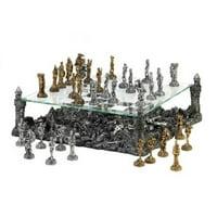 Zingz & Thingz 57070572 Ravaged Kingdom Chess Set