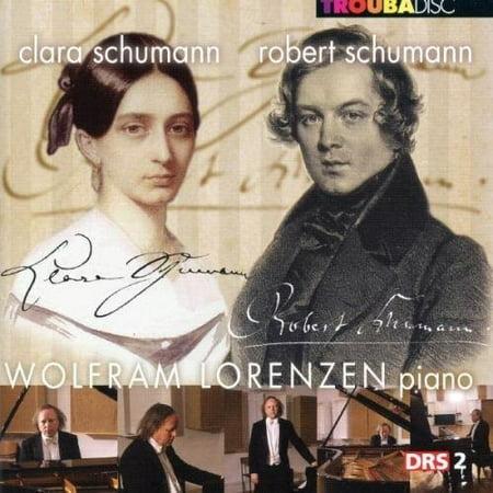 Schumann  R    Lorenzen  Wolfram   Piano Works  Abegg Variations Op 1   Sonata G  Cd