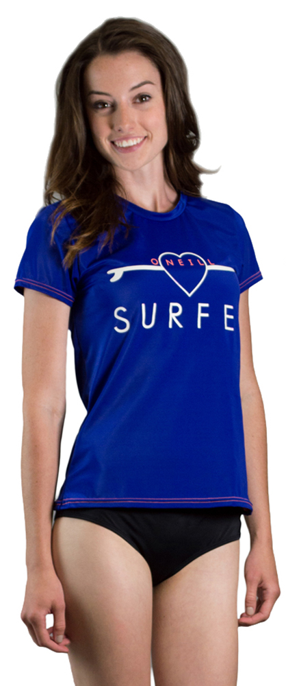 Women's O'Neill GRAPHIC S S Rashguard by O'Neill