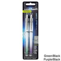 Uni-Ball  Pack of 2 Vision Elite BLX Series Stick Roller Ball Pens
