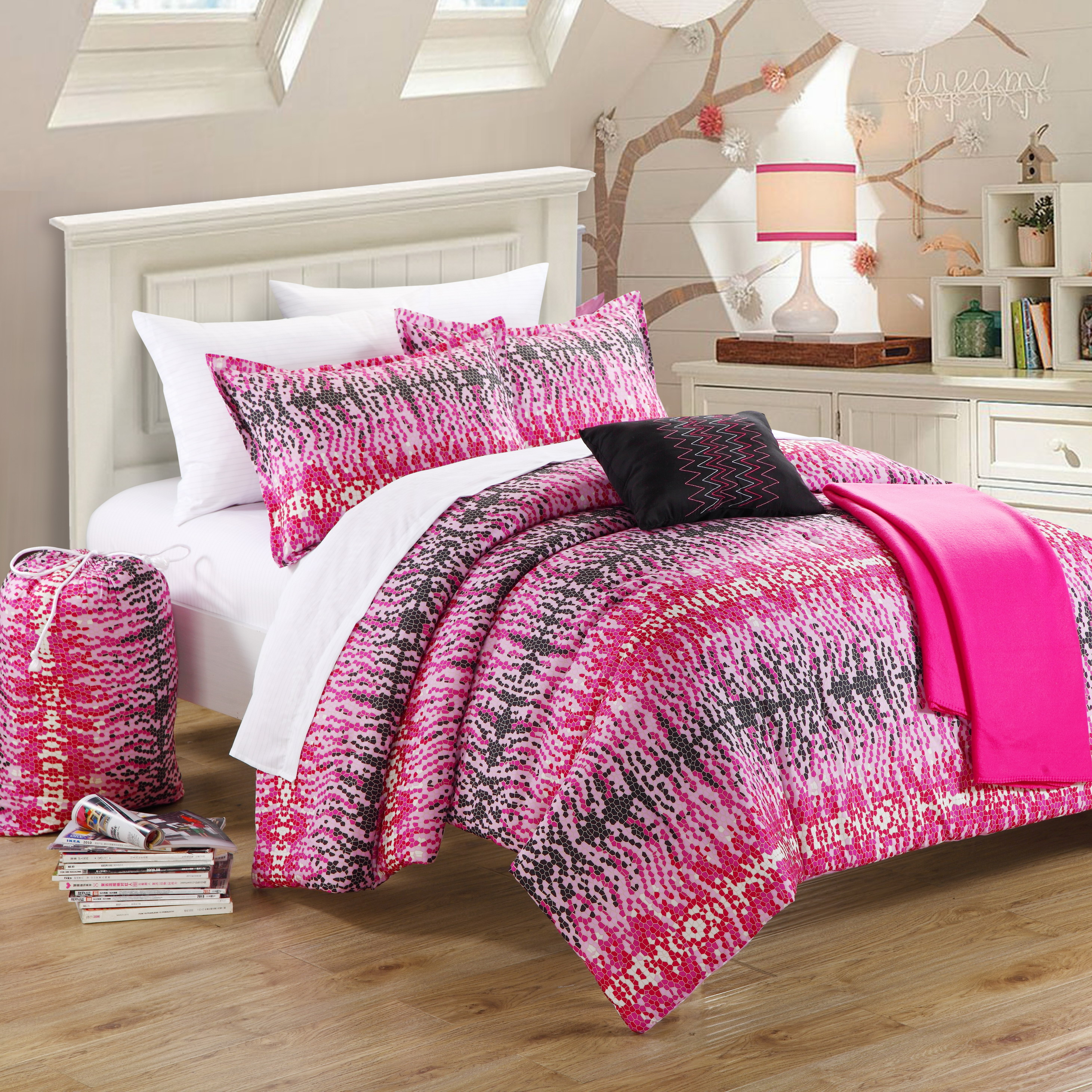 Chic Home Barbie 7-Piece Comforter Set
