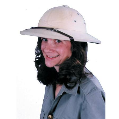 Pith Hat French Khaki - Cheap Pith Helmet