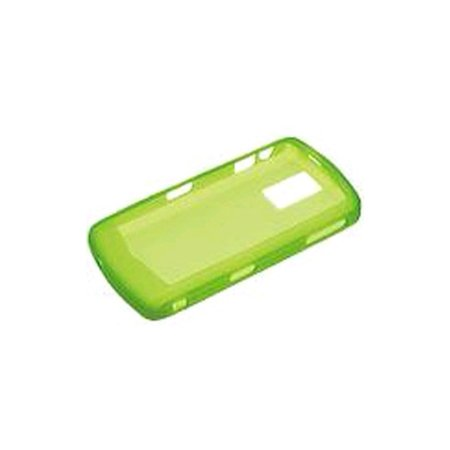 BlackBerry - Silicone Cover Skin for BlackBerry 8100 8100c - Neon (Neon Green Silicone)