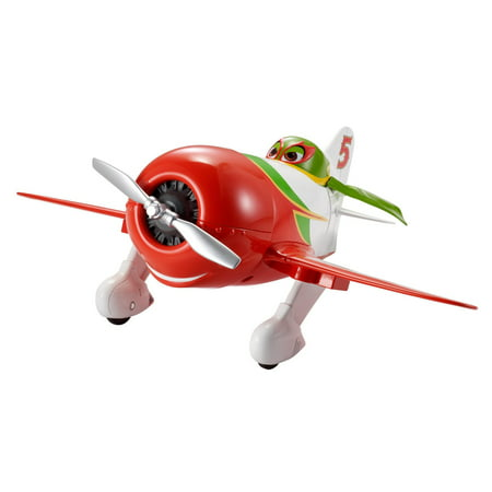 Disney Planes El Chupacabra Deluxe Talking Plane with 15+ - Gliding Plane