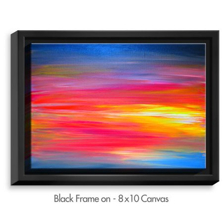 Dianoche Designs Bright Horizons By Julia Di Sano Painting Print On Wrapped Framed Canvas