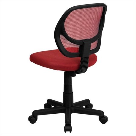 Scranton & Co Mid-Back Mesh Task and Office Chair in Red - image 1 of 3