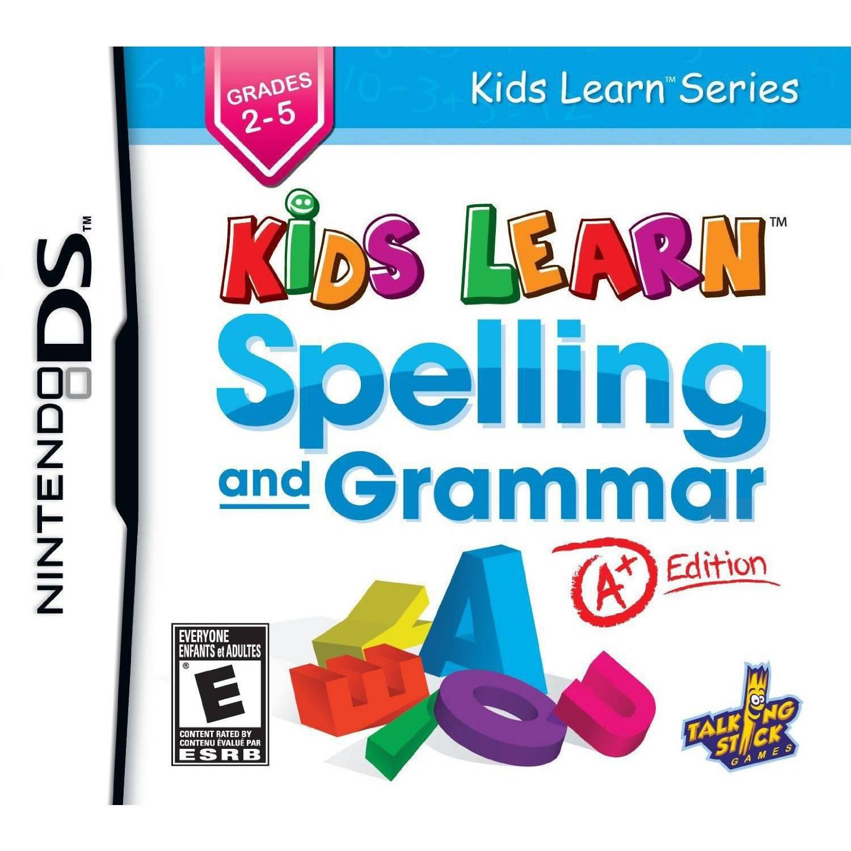 Kids Learn Spelling & Grammar: A+ Edition (DS)