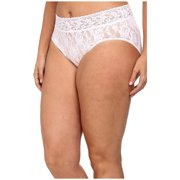 Hanky Panky Plus Size Signature Lace French Brief White