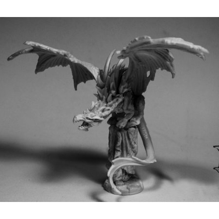 Reaper Miniatures Temple Dragon #77503 Bones RPG D&D Mini Figure](Mr Bones Halloween Figure)