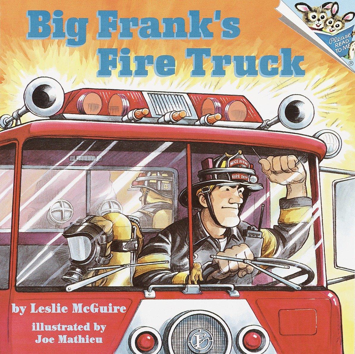Big Frank's Fire Truck (Paperback)