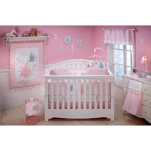 Brand new Disney Baby - Princess Dreams Come True 4-Piece Crib Bedding Set  JI69