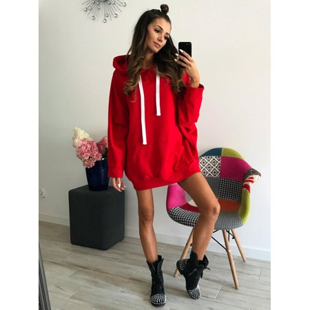 8c86b38d3 Clothes for Women on Clearance! Women's Pullover Sweaters for Women, Long  Sleeve Hooded Sweatshirts for Juniors, White / Gray Gift Hoodies Pullover  Tops for ...