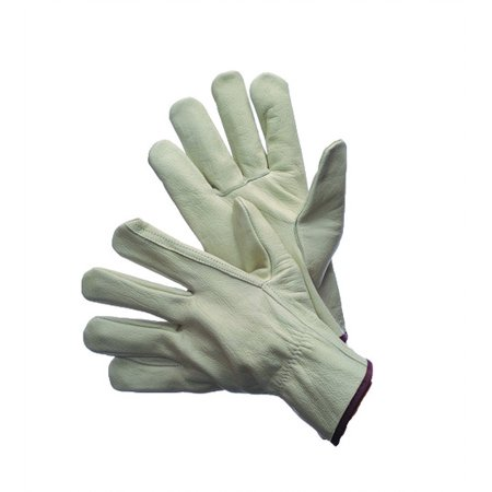 Drivers Straight Thumb - Cowgrain Driver Gloves With Straight Thumb C Grade. Size: Medium Lot of 1 Pack(s) of 1 Pair