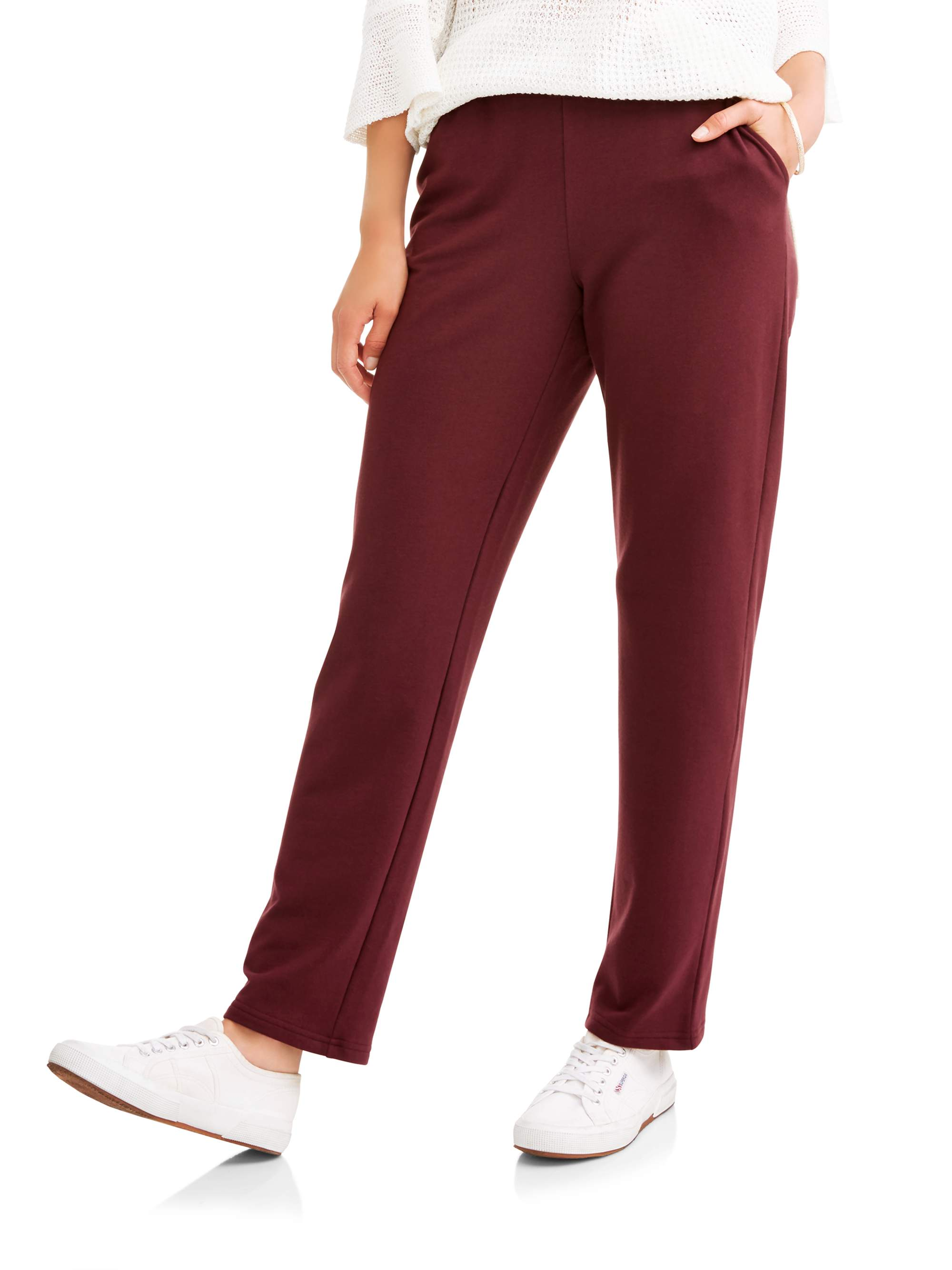 Women's Knit Pull On Pants