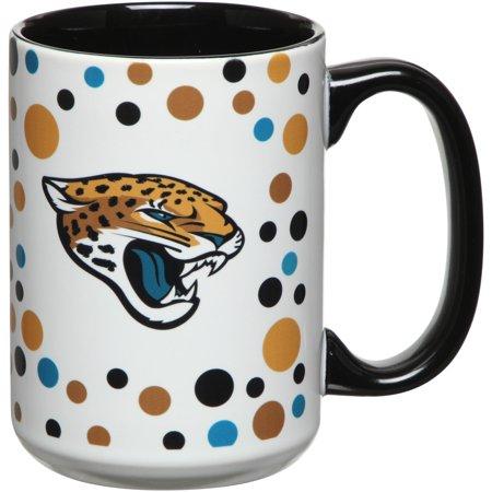 Jacksonville Jaguars 15oz. Dot Mug - No Size