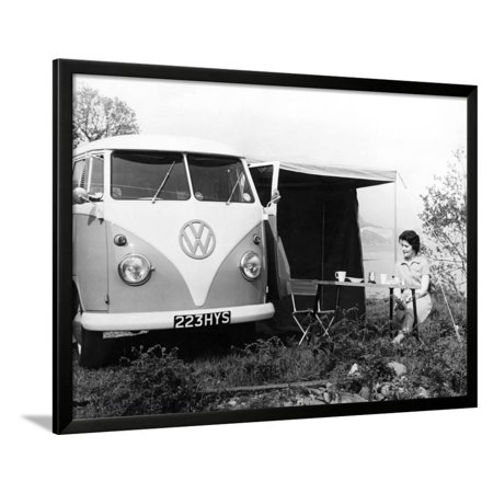Vw Camper Van Framed Print Wall Art (Brand New Vw Camper Vans For Sale)