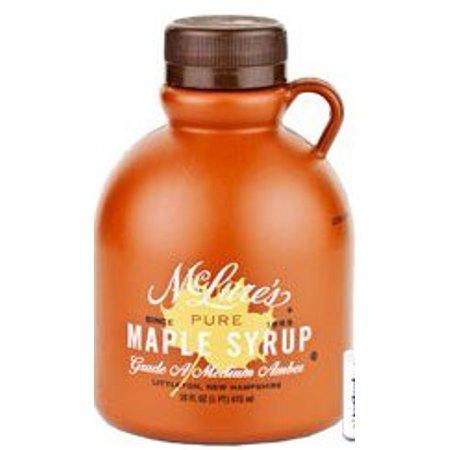 Mclures Maple Syrup - Medium Amber - 16oz