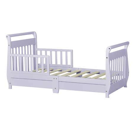 Dream On Mesleigh Toddler Bed W Storage Drawer Lavender Ice
