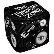 The Twilight Zone Another Dimension Cube(Ottoman) White 18X18X18