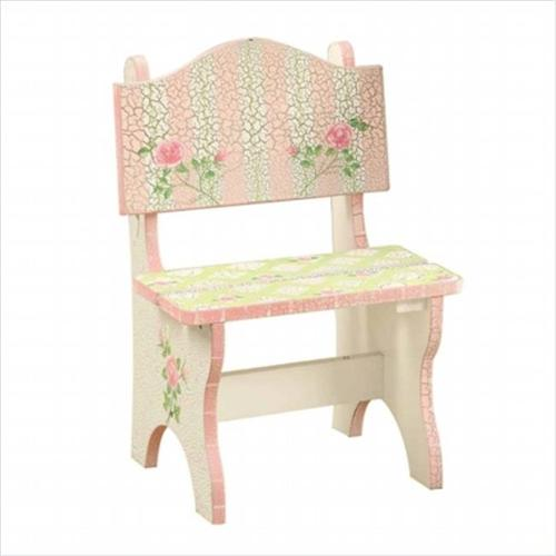 Fantasy Fields W-6546G Crackled Rose Mini Chair