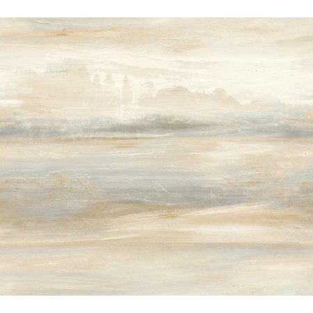 York So2433 Candice Olson Tranquil Soothing Mists Scenic Wallpaper