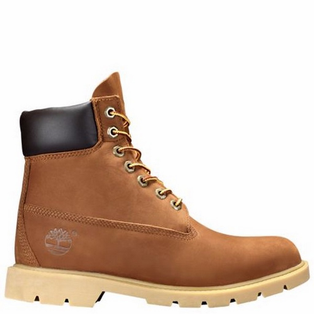 Timberland 6 Inch Basic Men's Field Boots Rust 19076 by Timberland