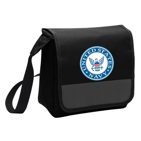 US NAVY Lunch Bag Stylish OFFICIAL United States Navy Lunchbox Cooler for School or Office - Men or