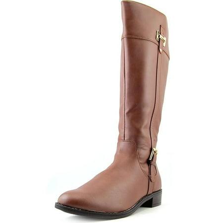 Riding Knee High (Karen Scott Womens Deliee Regular Calf Round Toe Knee High Riding Boots)