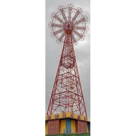 Parachute Jump Tower along Riegelmann Boardwalk Long Island Coney Island New York City New York State USA Poster