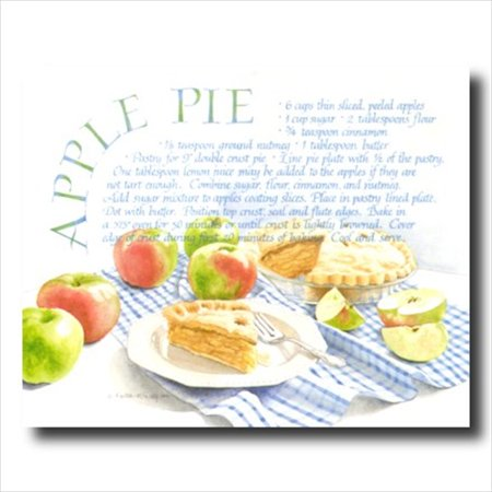 Art Apple (Kitchen Recipe Apple Pie Cafe Wall Picture Art Print )