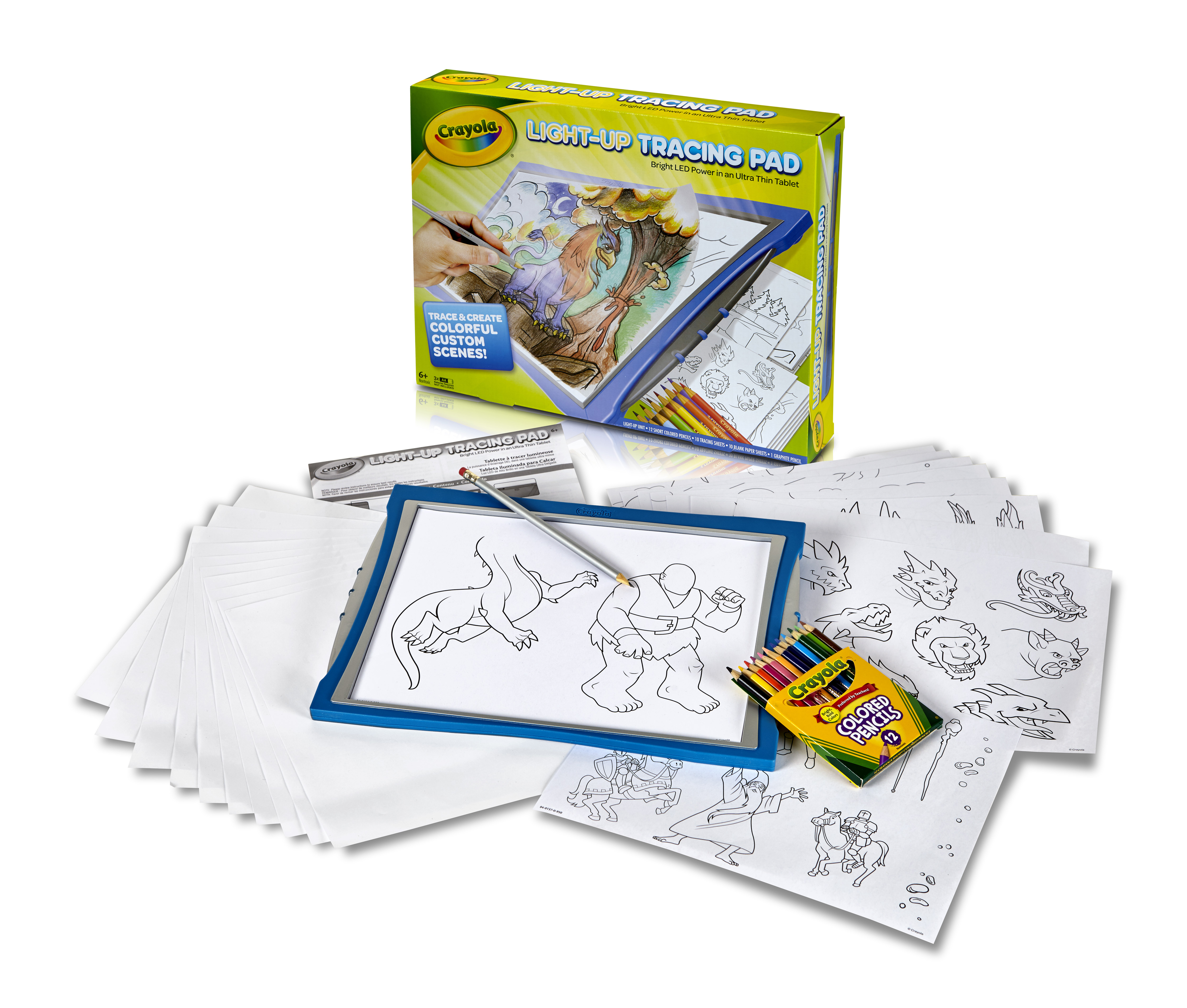 Crayola Light Up Tracing Pad For Boys by Crayola