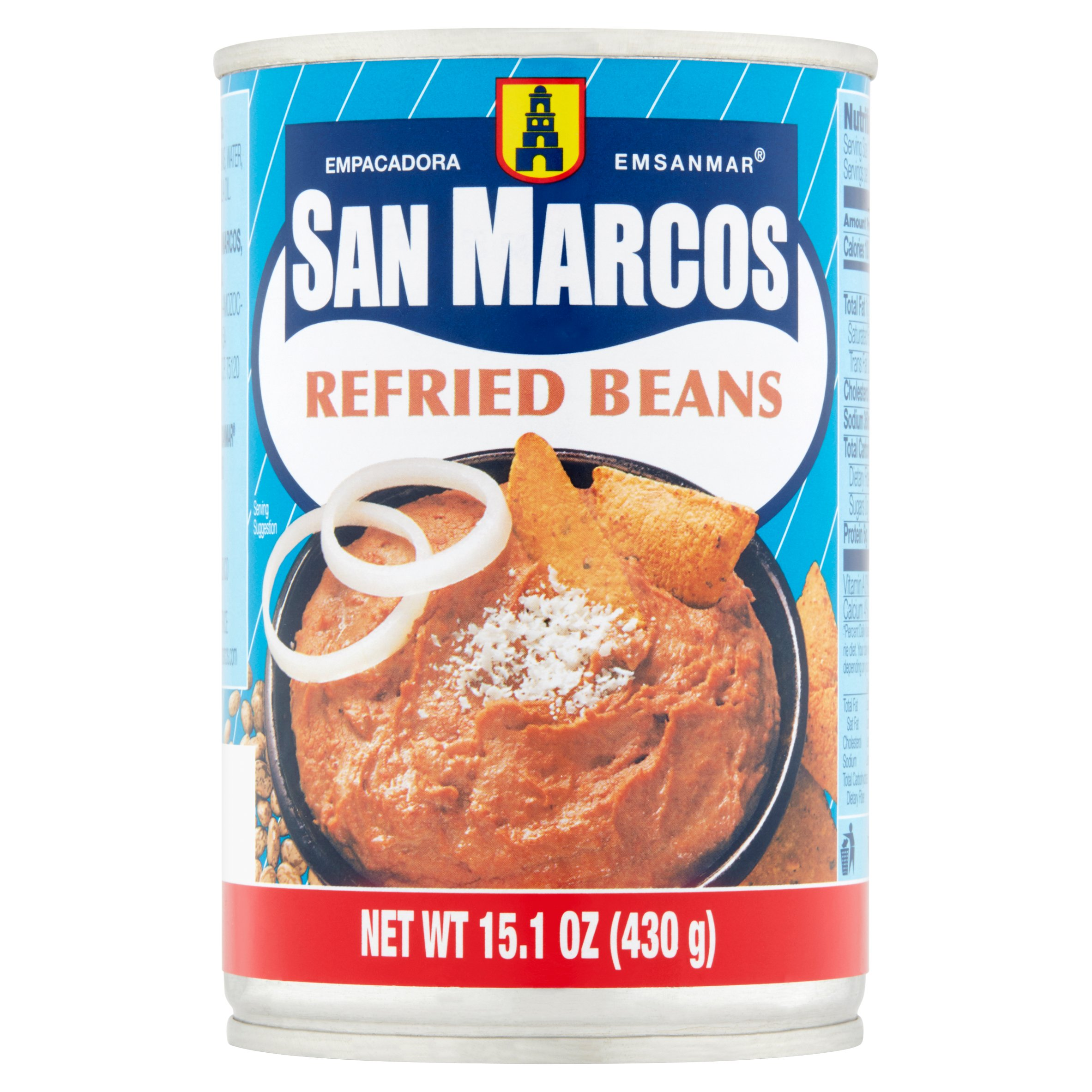 San Marcos Refried Beans, 15.1 Oz