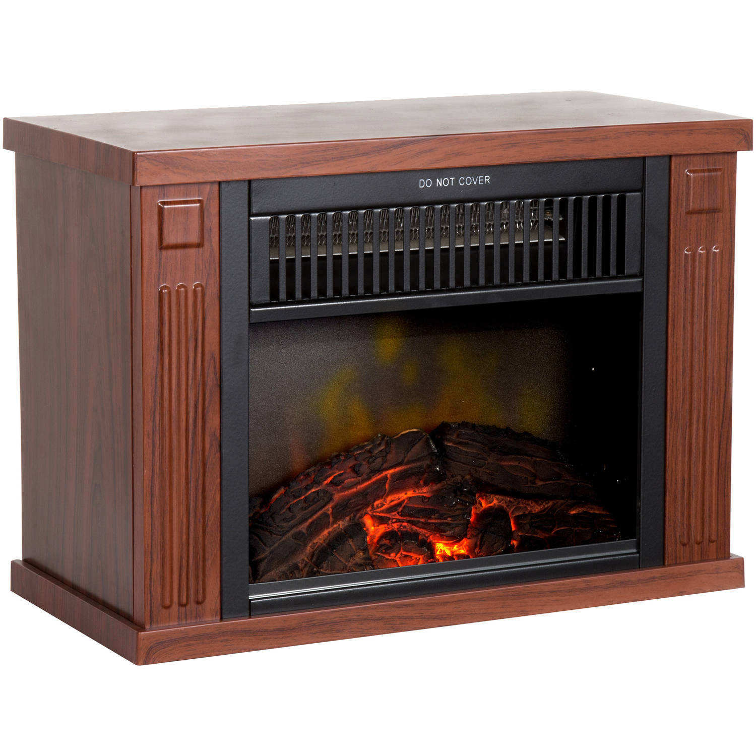 Northwest Portable Mini Electric Fireplace Heater Walmart Com